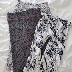 Bundle of medium gap old navy and puma leggings